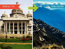 Top Travel Agent for Darjeeling from Bengaluru