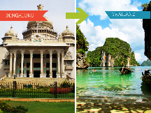 Top Travel Agents for Thailand from Bangalore
