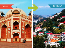 Top 10 Travel Agents for Shimla from Delhi