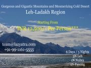 Ladakh - 5n Stay In Pangong, Nubra, Leh - Inr 12500