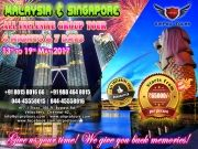 Malaysia & Singapore All Inclusive Group Tours From Chennai