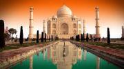 Queen Of Uttarakhand With Taj Mahal