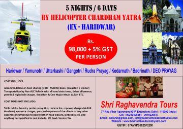 yamunotri gangotri kedarnath badrinath 5 nights & 6 days