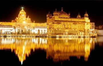 Golden Triangle with Golden Temple
