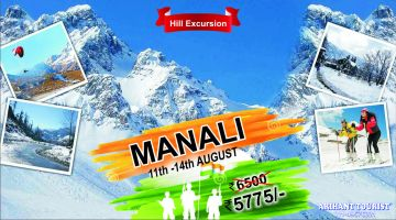 Independence long weekend trip for Manali