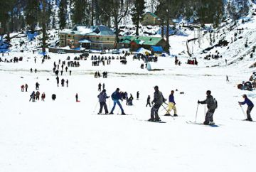 TPJ-08 Auli Tour Package from Delhi