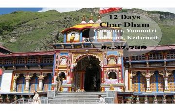 Gangotri - Yamnotri - Badrinath - Kedarnath Tour