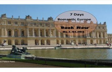 Romantic Europe 6 Nights / 7 Days