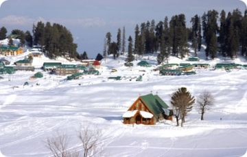 Kashmir Deluxe- Air Package from Ahmedabad