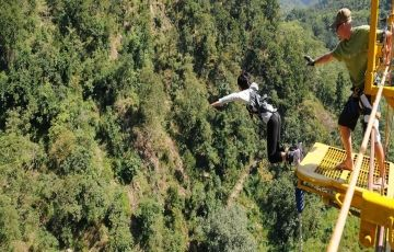 River Rafting Shivpuri & Bungee Jumping