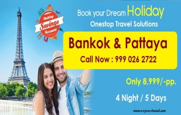 Explore Bankok & Pattaya 4 Night / 5 Days