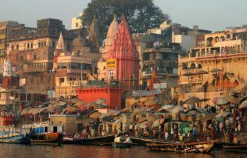 Spritiual Varanasi With Golden Triangle Tour