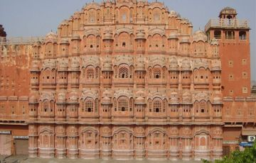 Jewel of Rajasthan with Taj Mahal