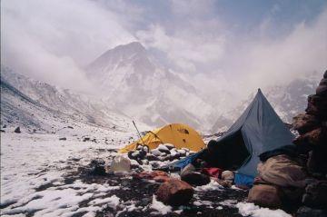 Trekking in India  Bagini Glacier  An Amphitheatre of Snow