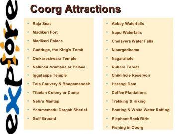 coorg,ootyand kodaikenal family trip