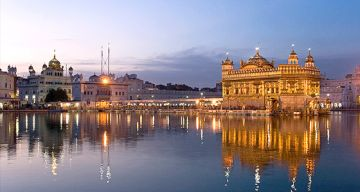 CHANDIGARH AMRITSAR WEEKEND TOUR PACKAGE 2 NIGHTS AND 3 DAYS