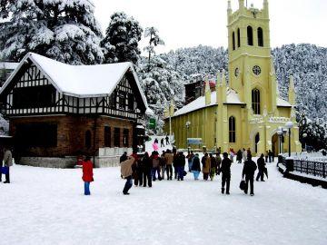 Shimla Weekend tour by Cab Ex. Chandigarh