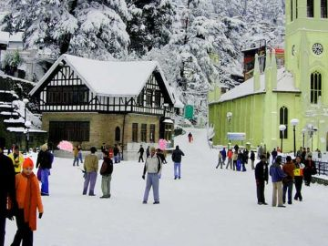 SHIMLA MANALI TOUR PACKAGE 2 NIGHTS AND 3 DAYS