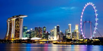 SPARKLING DAYS IN SINGAPORE