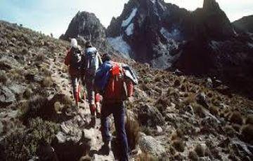 5 days Mount Kenya Climbing safari