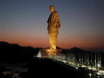 Statue of Unity with Vadodara By KBG