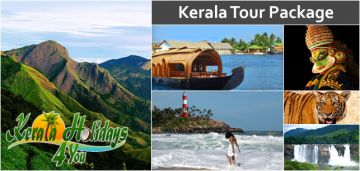 For 2 adults, Kerala Package for 6 Nights 7 Days with Day trip to Kanyakumari