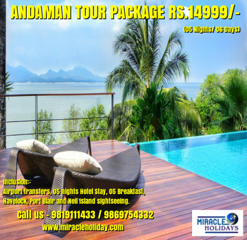 Andaman Tour Package For 06 Days