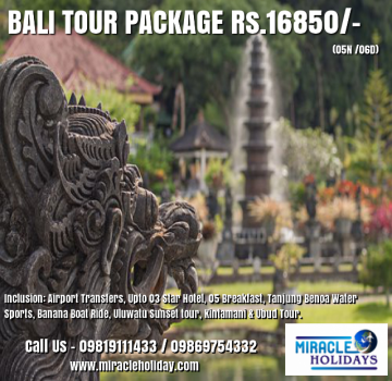 Indonesia Tour Package For 06 Days