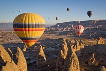 Turkey with Hot air ballooning