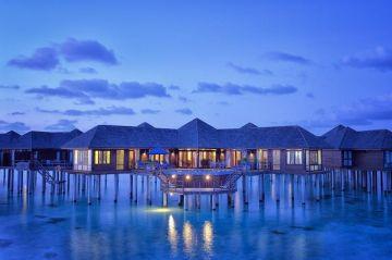 Maldives Three Nights Prestige Jacuzzi Water villa at Olhuveli Resort