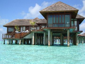 MALDIVES 3 NIGHTS 4 DAYS GRAND WATER VILLA WITH POOL COMBO OLHUVELI BEACH AND SPA