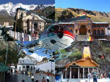 Helicopter Booking For Char Dham Yatra