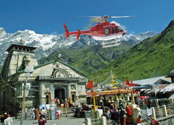 Chardham Yatra by Helicopter from Dehradun for 1 Night/ 2 Days