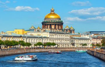 Russia Fixed Departures with 2N Kazan + 2N Moscow + 3N St. Petersburg