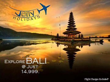Explore Fascinating BALI @ Just 13,000/-person