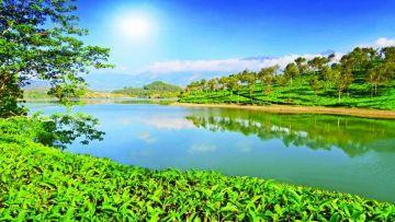 Economy - Kerala Panorama With Houseboat