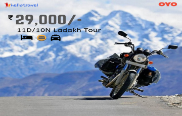 Ladakh Bike Trip Fixed Departure Ex Manali - 10 Nights starting @ Rs. 29000