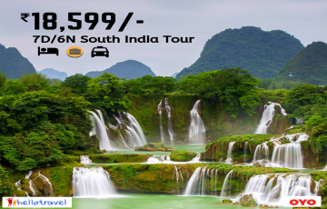 Best of South India Land Package Only - 6N/7D starting @INR 18599