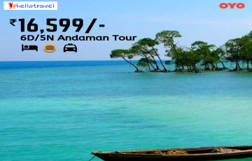 Unwind in the Andaman Land Package only - 5N/6D starting @INR 16599