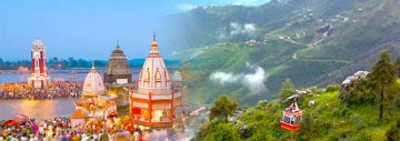 Haridwar-Rishikesh & Mussoorie Package for 4 Night & 5 Days