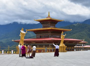 Three Way Bhutan Tour 6 Nights 7 Days Fly In Fly Out