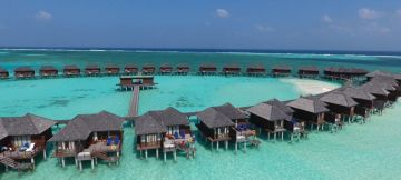 Fly and Stay in Luxury Olhuveli Resort & Spa Maldives - Ex Mum & Blr
