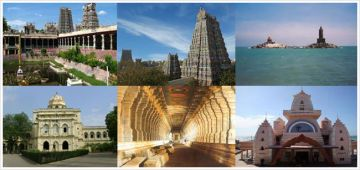 9 nights/10 days Tirupati Kanchipuram Mahabalipuram Pondicherry Kumbakonam Rameshwaram and Madurai