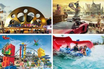 Dubai 3 Nights and 4 Days with Visa , Dubai Park and Resort and Laguna Park access