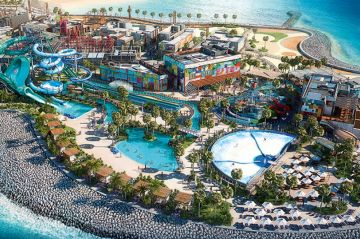 5 Star Hotel Stay in Dubai with Visa , City Sight Seeing , Laguna waterpark Access and 1 Day park access to Laguna Waterpark