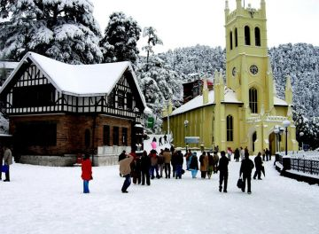 2 Days Shimla Volvo Package from Delhi