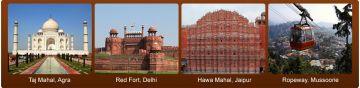 6 Days Delhi Agra Mathura Virandavan Mussoorie Best Tour Package
