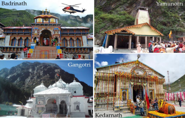 Deluxe Sacred Char Dham Yatra From Delhi 10 Night 11 Days