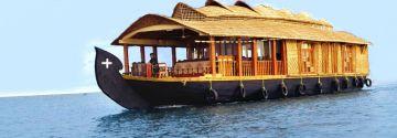 Hills & House BoatMunnar and Alleppey Honeymoon 4 days Trip @14999 INR