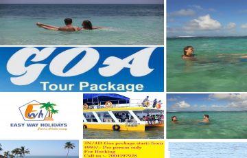 Goa Package Under Budget 2 Nights 3 Days